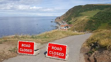 Road: Closed since September 2017.
