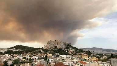 Greece wildfires: What's the advice for travellers?
