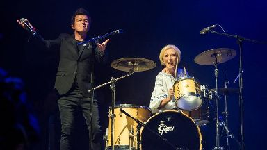 Mary Berry reveals hidden talent on stage with Rick Astley at Camp Bestival