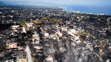Greek village grieves as wildfire death toll climbs above 90