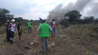 Mexican airliner crashes after take-off