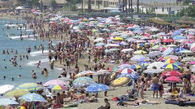 Spain on weather alert as hot air sweeps in from Africa