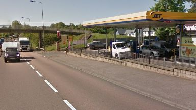 Police: Officers closed the road for several hours. A90 Forfar Road Jet Garage Dundee