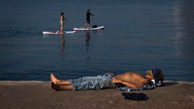 Portugal sizzles in 45C as heatwave scorches Europe