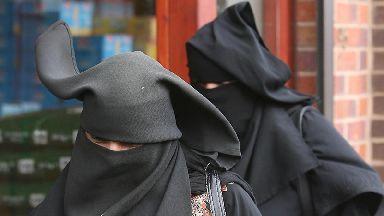 Denmark banned face veils from August 1.
