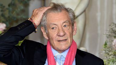 Sir Ian McKellen injured himself ahead of a matinee of King Lear