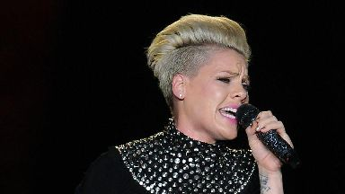 Pink admitted to hospital in Sydney