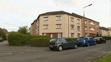 Flat in PennyWell Road, Edinburgh, where woman found dead in unexplained circumstances.