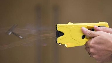 The 11-year-old was shocked with a Taser stun gun.