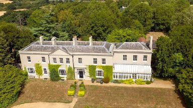 Couple offer up chance to win luxury six-bedroom mansion in raffle