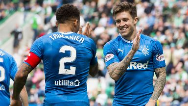 James Tavernier and Josh Windass
