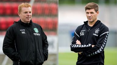 Neil Lennon and Steven Gerrard have picked their teams for Europa League action.
