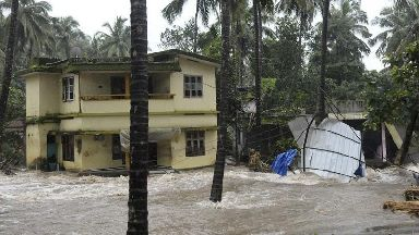 Monsoon rains cause deadly flooding and landslides in India