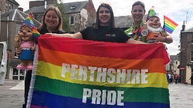 Perthshire Pride on 11/8/18