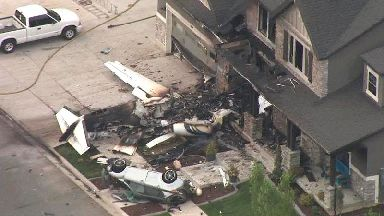 Man flies plane into own home after dispute with wife