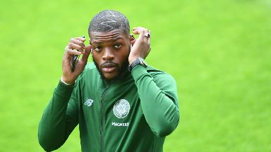 Star turn: Olivier Ntcham has been one of Celtic's top performers this season.