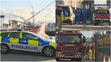 Fraserburgh: Man pronounced dead. Sunbeam Harbour