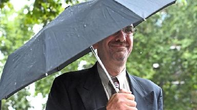 Richard Sivier leaves Westminster Magistrates' Court.
