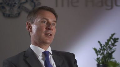 Jeremy Hunt hints to ITV News that Britain could adopt even more EU rules after Brexit