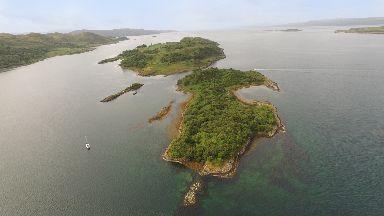 Remote island Eilean Nan Gabhar on sale