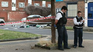 Six released on bail after four teenagers stabbed in London fight