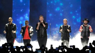 Injured taken to hospital after drama at Backstreet Boys concert venue