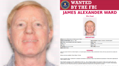 Accused Scots fraudster James Ward appears on FBI's most wanted list