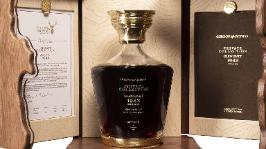 Private Collection Glenlivet sold for nearly £43,000 at McTear's