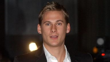 Singer Lee Ryan from Blue.