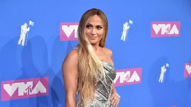 Jennifer Lopez was one of the stars to arrive on the red carpet for the MTV Video Music Awards.