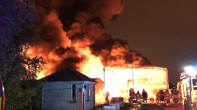 Blaze breaks out at Dublin recycling centre
