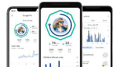 The tech giant has announced a new version of its Google Fit app.
