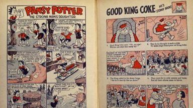 Cartoon: Inside the 1940 Beano annual.