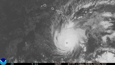 Hawaii residents brace themselves as hurricane approaches
