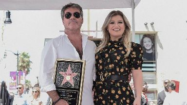 Simon Cowell says receiving Hollywood Walk Of Fame star is 'surreal'