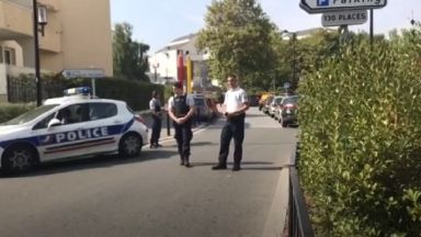 Two people were killed by an attacker in Trappes, West Paris.