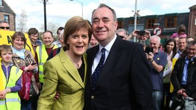 Shocked: Sturgeon said it was an extremely difficult situation. Alex Salmond