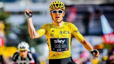 Tour de France winner Geraint Thomas says cycling helmets should be compulsory