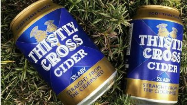 Thistly Cross: Donations can be swapped for cider and beer.