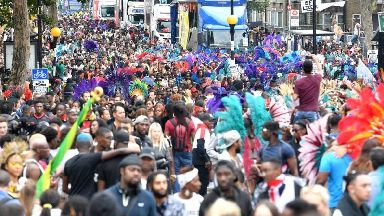 Notting Hill Carnival: More than 370 arrests made over bank holiday weekend