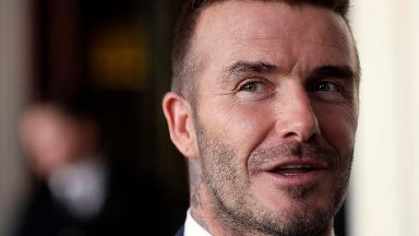 David Beckham faces speeding charge