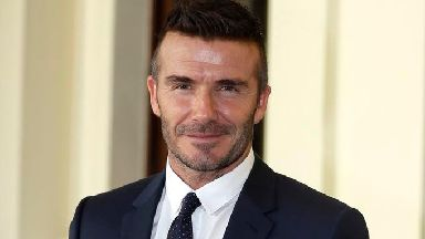 David Beckham is charged with exceeding a 40mph speed limit in contravention of a local traffic order.