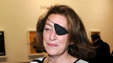 Award-winning American journalist Marie Colvin.