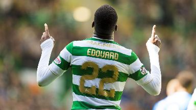 Odsonne Edouard starts for Celtic.