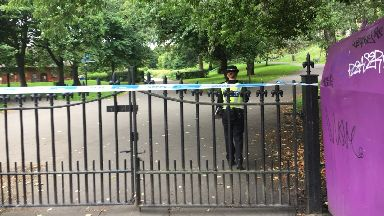 Cordon: A 29-year-old woman was attacked. Kelvingrove Park Glasgow