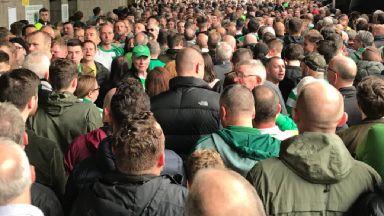 Celtic Park / Parkhead crush on 2/9/18