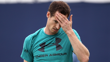 File photo dated 15-06-2018 of Andy Murray.