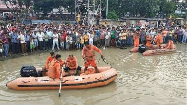 28 people missing after boat capsizes in India's north-east