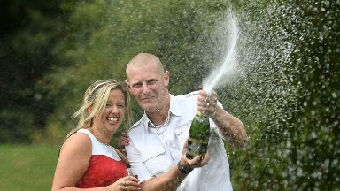 Husband thought £1m lottery win was prank by wife
