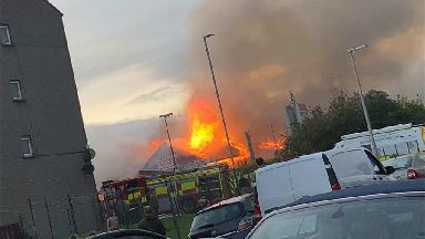 Hilltown Indoor Market fire, Dundee, September 2018
